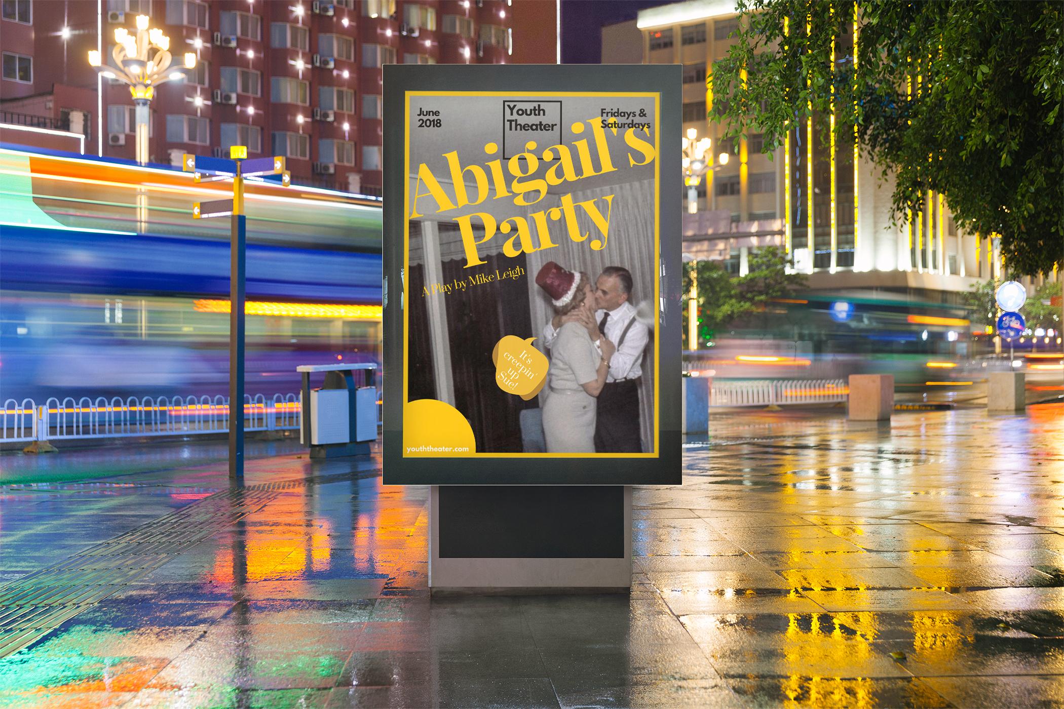 abigails party coursework